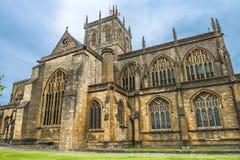 Abadía de Sherborne, Dorset, Inglaterra, Reino Unido Fotos de archivo