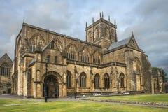Abadía de Sherborne, Dorset, Inglaterra, Reino Unido Imagenes de archivo