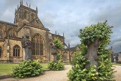 Abadía de Sherborne, Dorset, Inglaterra, Reino Unido Imagen de archivo