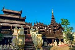Abadía de Shwe Inbin Foto de archivo