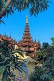 Abadía de Shwe Inbin Fotografía de archivo libre de regalías