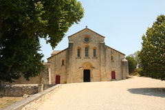 Abadía de Silvacane - luberon Imagen de archivo