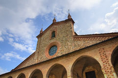 Abadía de St. Colombano. Bobbio. Emilia-Romagna. Italia. Fotos de archivo libres de regalías