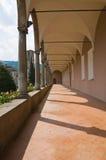 Abadía de St. Colombano. Bobbio. Emilia-Romagna. Italia. Imagen de archivo libre de regalías