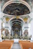 Abadía de St Gallen en Suiza Fotografía de archivo
