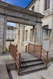 Abadía de St Germain, Auxerre Foto de archivo