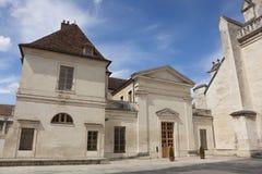 Abadía de St Germain, Auxerre Fotografía de archivo