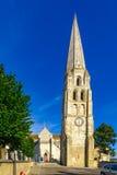 Abadía de St Germain, en Auxerre Foto de archivo libre de regalías
