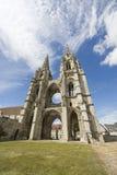 Abadía de St-Jean-DES Vignes en Soissons Foto de archivo