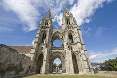 Abadía de St-Jean-DES Vignes en Soissons Fotografía de archivo