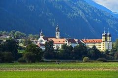 Abadía de Stams, el Tyrol, Austria Imagen de archivo libre de regalías