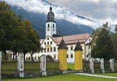 Abadía de Stams, Stams, el Tyrol, Austria Imágenes de archivo libres de regalías