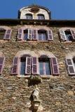 Abadía de StFoy en Conques Fotografía de archivo libre de regalías