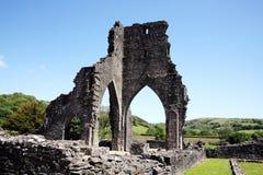 Abadía de Talley, Carmarthenshire, País de Gales Foto de archivo