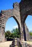 Abadía de Talley, Carmarthenshire, País de Gales Imagenes de archivo