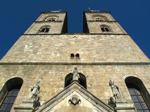 Abadía de Tepla Imagen de archivo