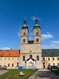 Abadía de Tepla Fotografía de archivo