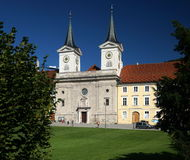 Abadía de Tergernsee Fotografía de archivo