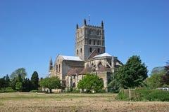 Abadía de Tewkesbury Imagen de archivo libre de regalías