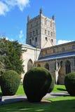 Abadía de Tewkesbury, Gloucestershire, Inglaterra Imagenes de archivo