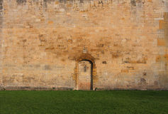 Abadía de Tewkesbury, Inglaterra, detalle arquitectónico Imagenes de archivo
