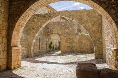 Abadía de Thoronet Imagenes de archivo