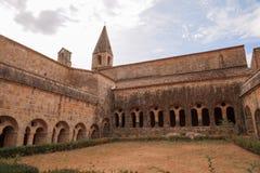 Abadía de Thoronet de la orden cisterciense en Francia Fotos de archivo