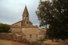 Abadía de Thoronet de la orden cisterciense en Francia Fotografía de archivo