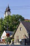 Abadía de Tihany Foto de archivo libre de regalías