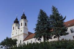 Abadía de Tihany Imágenes de archivo libres de regalías