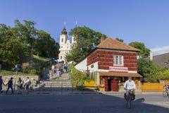Abadía de Tihany Imagen de archivo libre de regalías