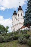 Abadía de Tihany cerca del lago Balatón, Hungría Imagen de archivo