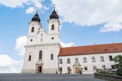 Abadía de Tihany cerca del lago Balatón, Hungría Fotos de archivo
