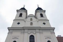 Abadía de Tihany en Hungría Fotos de archivo