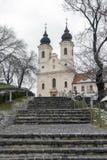 Abadía de Tihany en Hungría Imagen de archivo libre de regalías