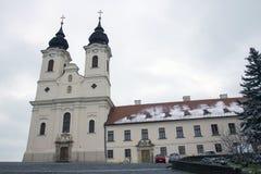 Abadía de Tihany en Hungría Fotografía de archivo libre de regalías
