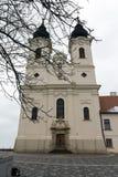 Abadía de Tihany en Hungría Fotografía de archivo