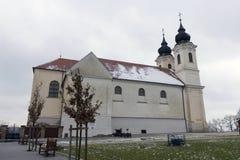 Abadía de Tihany en Hungría Foto de archivo libre de regalías