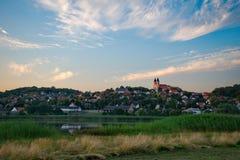 Abadía de Tihany en Hungría Fotos de archivo libres de regalías