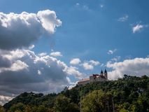 Abadía de Tihany, Hungría fotografía de archivo
