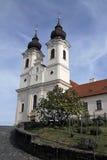 Abadía de Tihany, Hungría Foto de archivo libre de regalías