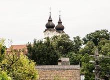 Abadía de Tihany, monasterio benedictino, Hungría Fotografía de archivo libre de regalías