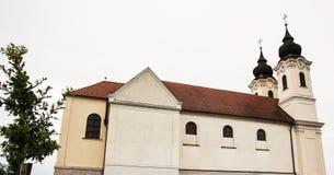 Abadía de Tihany, monasterio benedictino, Hungría, architec religioso Foto de archivo