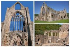 Abadía de Tintern, País de Gales, A d 1131 Fotos de archivo