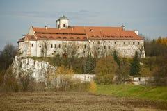 Abadía de Tyniec Foto de archivo