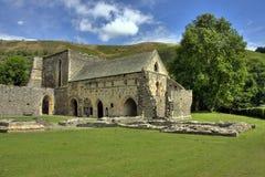 Abadía de Valle Crucis Imágenes de archivo libres de regalías