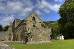 Abadía de Valle Crucis Foto de archivo libre de regalías