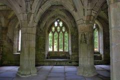 Abadía de Valle Crucis Imagenes de archivo