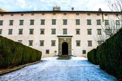 Abadía de Vallombrosa en Toscana, Italia Fotos de archivo libres de regalías