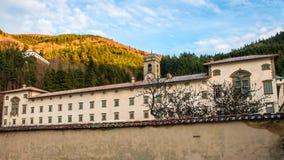 Abadía de Vallombrosa en Toscana, Italia Foto de archivo